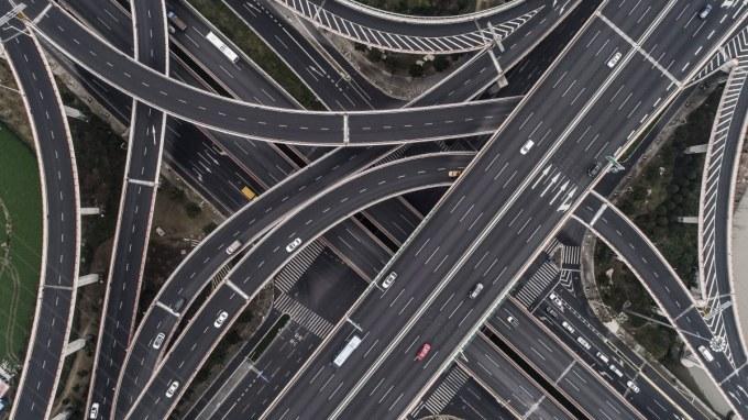 highways top view