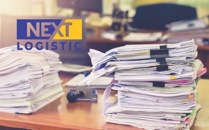 Pile of documents nextlogistic