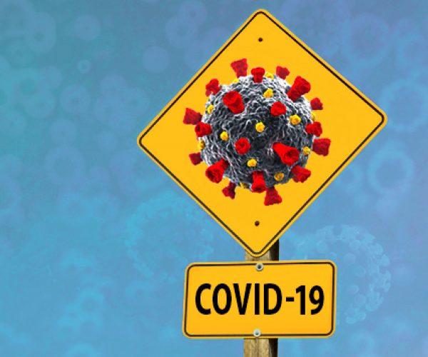 covid -19 sign